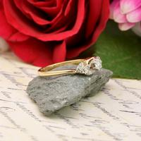 The Vintage Brilliant Cut Foliate Diamond Ring (3 of 5)