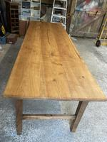 French Three Plank Cherry Wood Table (3 of 6)