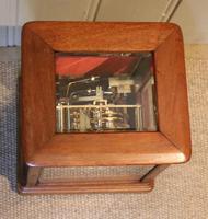Mahogany Four Glass Ting Tang Mantel Clock (3 of 9)
