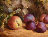 """Oil Painting by William Hughes """"Victoria Plums"""" (3 of 5)"""