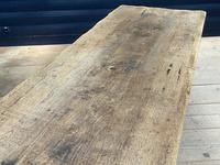 Superb Very Rustic French Oak Bleached Oak Farmhouse Dining Table (20 of 32)