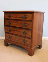 Antique Small Walnut Chest of Drawers (2 of 8)