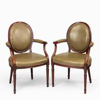 Six Edwardian Mahogany Chairs by Gill & Reigate (4 of 7)