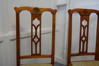 Pair of Arts & Crafts Golden Oak Chairs (5 of 6)