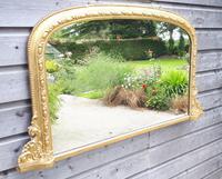 19th Century Gilt Overmantel Mirror