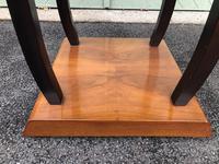 Art Deco Walnut & Ebonised Table (4 of 9)