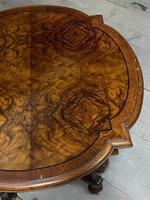 Pretty Walnut Carolean Coffee or Lamp Table (6 of 10)