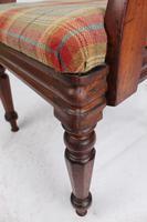 Victorian Mahogany Desk Chair / Open Armchair (11 of 13)