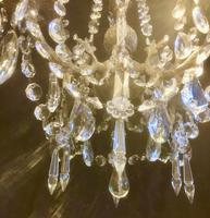 Four Light French Antique Chandelier (4 of 5)