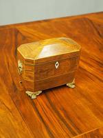 George IV Inlaid Rosewood Tea Caddy (2 of 9)