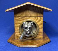 Victorian French Chestnut Dog Kennel Money Box (8 of 10)