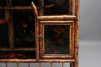 Impressive 19th Century Bamboo Cabinet (14 of 18)