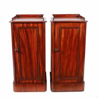 19th Century Bedside Cabinets (2 of 8)