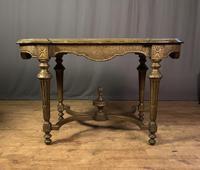 Napoleon III Giltwood Library or Sofa Table (12 of 13)
