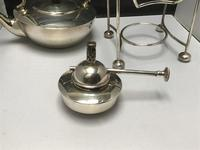 Solid Silver Spirit Kettle Dresser Style (9 of 13)
