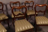Set of 6 Early Victorian Mahogany Dining Chairs Possibly Gillows (4 of 12)