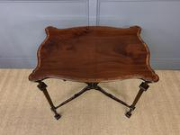 Chippendale Style Mahogany Occasional Table (9 of 10)