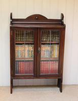 Oak Glazed Bookcase (3 of 10)