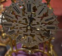 Victorian Skeleton Clock & Dome (4 of 4)