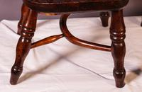 A Near Pair of Childs Yew Wood Windsor chairs (6 of 14)