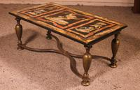 Coffee Table with Scagolia Marble Top - Florence 19th Century (10 of 13)