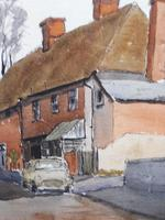 Watercolour and ink Dedham Listed artist Ronald Birch (4 of 10)