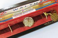 Gents 9ct Gold Waltham Wrist Watch, Boxed (2 of 5)