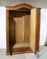 French Solid Oak Wardrobe (4 of 10)