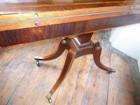 English Regency Card Table (8 of 9)