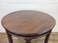 Antique Walnut Circular Centre Table (8 of 10)