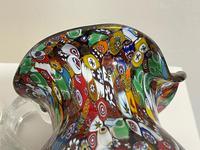 2 Beautiful Italian Murano Fratelli & Torso Millefiori Glass Vases (21 of 34)