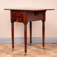19th Century Mahogany Pembroke Work Table (13 of 13)