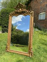 French Shaped Gilt Mirror (4 of 5)