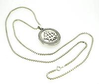 Antique Silver Locket & Chain (3 of 4)