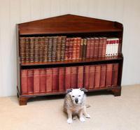 Edwardian Open Mahogany Bookcase c.1910 (11 of 12)