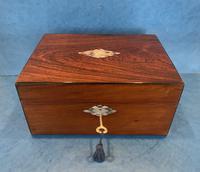 Victorian Rosewood Jewellery Box (10 of 15)