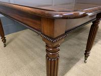 Gillows Style Regency Mahogany Dining Table (15 of 22)