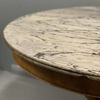 Large French Empire Marble Top Gueridon Table (3 of 8)