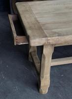 Bleached Oak Normandie Farmhouse Dining Table (6 of 10)