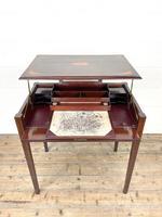 Edwardian Mahogany Metamorphic Writing Desk by Edwards & Sons (3 of 10)