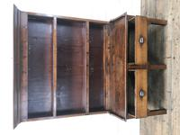 Small Antique Oak Farmhouse Country or Cottage Dresser (5 of 12)