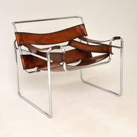 1960's Vintage Wassily Armchair by Marcel Breuer for Gavina