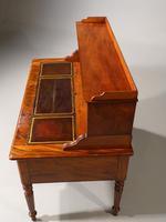 Beautifully Figured Mid 19th Century Mahogany Writing Desk (2 of 6)