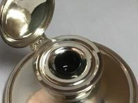 Large Solid Silver Capstan Inkwell (2 of 6)