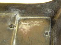 Antique 'Ges Gesch' Brass Letter Rack (6 of 6)