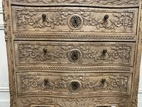 French Bleached Oak Chest of Drawers (12 of 12)