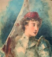 'Claude Thomas Stanfield Moore' Exhibition Quality Portrait Painting (4 of 9)