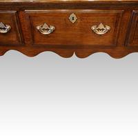 Antique Oak Cabriole Leg Dresser (6 of 9)
