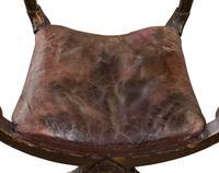 Pair of Ebonised Oak Elbow Chairs (11 of 12)