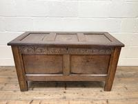 Antique 18th Century Welsh Oak Coffer (2 of 10)
